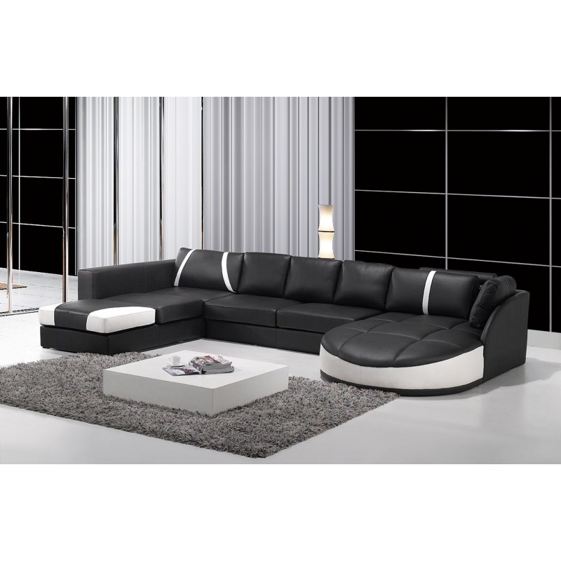 Sensational Serena Italian Designer Leather Sectional Sofa Evergreenethics Interior Chair Design Evergreenethicsorg