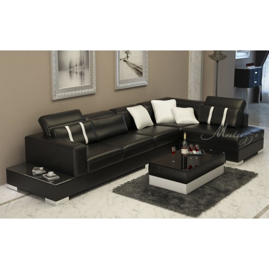 Marnow Corner leather sofa - Matuzzi